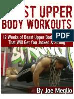 Beast Upper Body Workouts