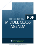 Senator Jeff Merkley's 2014 Oregon Middle Class Agenda