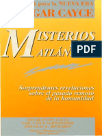 46002322 Edgar Cayce Misterios de La Atlantida