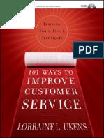 101 Ways to Improve Customer Service