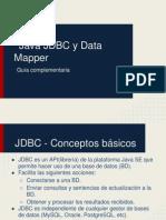 Java JDBC y Data Mapper