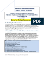 PPL Design Document - Evaluatibility Assessment (2013)
