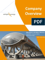Airlight Energy Vue d'Ensemble Projet CSP