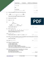 IGCSE_sample Maths Paper