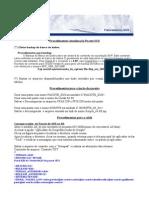 Procedimentos Atualização do Pacote SUS_v48