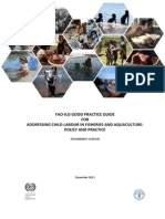 FAO-ILOGuidelines Child Labour in Fisheries and Aquaculture Policy Practice Preliminary Version