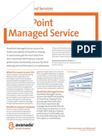 Sharepoint Managed Service