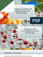 Panorama General de Las Finanzas