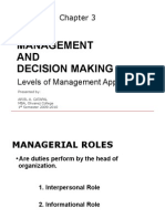Management and Decision Making