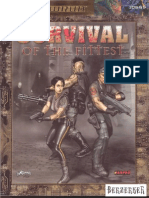 Shadowrun 3E - Survival of the Fittest