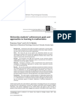 2009 University students' achievement goals and approaches to learning in mathematics.pdf