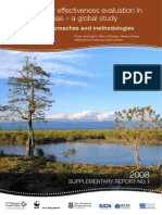 Management effectiveness evaluation in protected areas – a global study