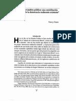 Nancy Fraser, Rempensar el ambito publico. Una constribucion a la critica de la demoracia realmente existente.pdf