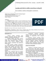 Perubahan Ukuran Ruang Pulpa Pada Diabetes Mellitus
