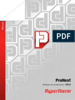 ProNest 2012 Manual