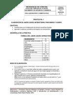 GUIA DE LABORATORIO DE COSMETOLÓGIA