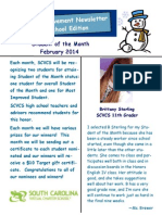 SAN Newsletter February2014 Blog