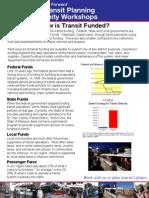 Metro public transit planning #4