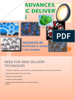 cosmetic delivery systems