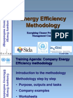 Energy Efficiency Methodology