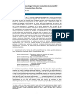 Performance Standards on Environmental and Social Sustainability (French) - 2012 Edition