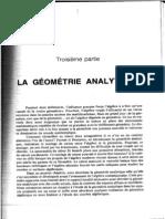 9 la géométrie analytique