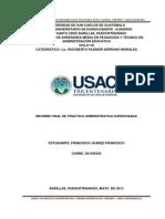 Práctica Adm. Supervisada Francisco Juarez 2013 Copy