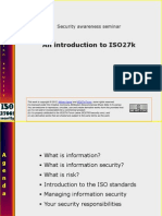 ISO27k Awareness Presentation v2