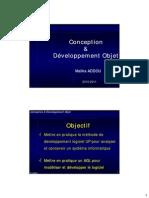 Conception & Développement - 2TUP