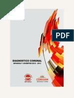 DIAGNOSTICO COMUNAL 2012-2013