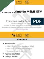MOT aplicado a problemas multifísicos - Francisco Ramirez