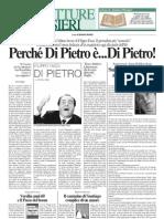 Il Corriere Nazionale. Pagina libri. Libro di Andrea Riscassi.