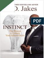 Instinct, T.D. Jakes - Excerpt