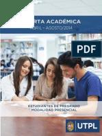 Oferta Academica Abril Agosto 2014