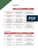 Jadual Liga Super Kelantan 2014