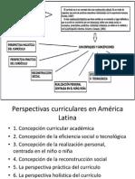 Perspectivas curriculares en América Latina