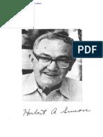 Simon (1990) InConsumer Behavior_Yesterday Today and Tomorrowvariants of Human Behavior