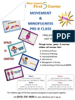 Movement & Mindfulness Flyer Mar-April 2014 English