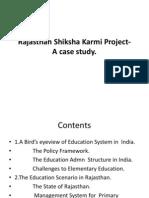 Rajasthan Shiksha Karmi Project