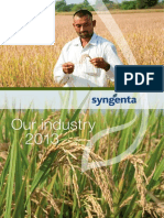 Our Industry 2013 Syngenta