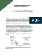 Efecto Del Espacio Muerto e Irreversibilidades Del Regenerador Sobre El Comportamiento Del Ciclo de Un Motor Stirling