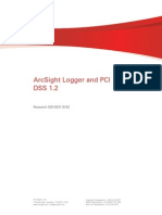ArcSight Logger PCI DSS 1.2