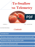 Easy to Swallow Wireless Telemetry