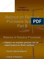 Chap. 3.4 Mass Balance Reactive System Part B