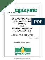 d Lactic Acid n l Lactic Acid
