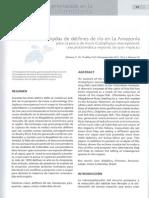 Fauna Acuatica Amenazada en La Amazonia Colombiana