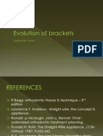 Brackets IN ORTHODONTICS