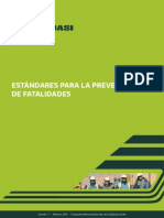 Manual de Estandares de Prevención de Fatalidades