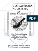 Myths of Babylonia and Assyria (Historical Narrative - Comparative Notes)
