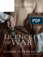 The Licence of War by Claire Letemendia
